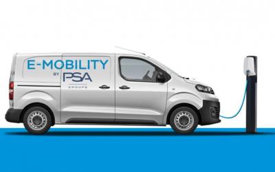Groupe PSA lança versões de furgões 100% eléctricos