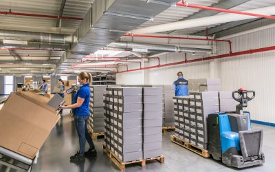 ECCO e Garland Logística renovam parceria