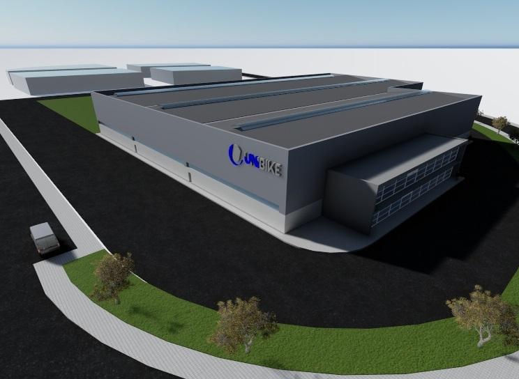 Unibike terá nova fábrica em Oiã