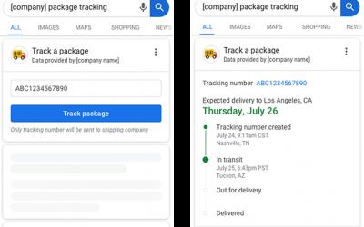 Tracking de encomendas vai chegar ao Google