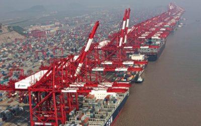 Xangai mantém a liderança do ranking mundial de portos