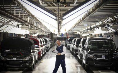 Autoeuropa aplica 103 milhões na fábrica de Palmela