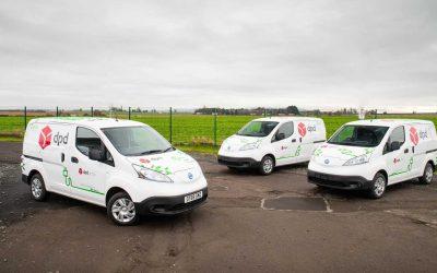Nissan reforça frota sustentável da DPD com 300 veículos eléctricos