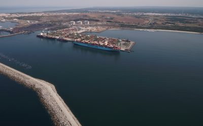 Arrancam as obras de expansão do Porto de Sines