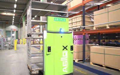 DB Schenker inicia operação regular com empilhador autónomo