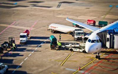 Receitas de carga aérea a nível global caíram 11,7%