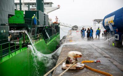 Primeiro abastecimento de GNL a um navio em Portugal
