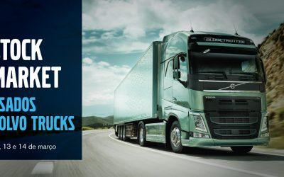 Auto Sueco promove stock market de camiões usados Volvo
