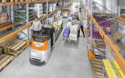 Still equipa order pickers com tecnologia iGo neo