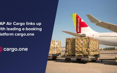 Nova parceria entre TAP Air Cargo e cargo.one
