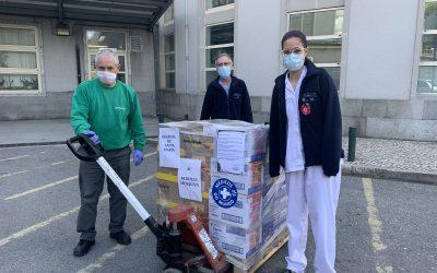 Santos e Vale associa-se a Médicos do Mundo e entrega mais de 2 toneladas de produtos