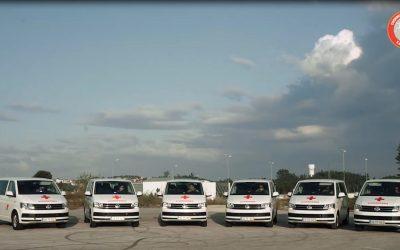 Volkswagen cede veículos para apoiar a Cruz Vermelha