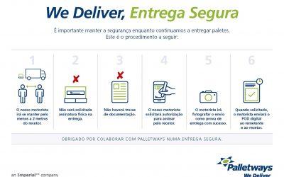 Palletways Iberia lança protocolo para garantir entrega segura da mercadoria