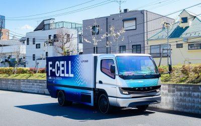 Mitsubishi Fuso prepara novo modelo de furgão a hidrogénio