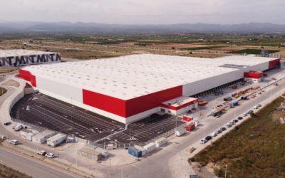 Novo centro logístico da Conforama em Valência