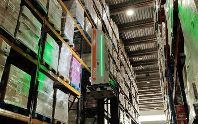 ID Logistics realiza inventários em movimento com tecnologia da Zetes