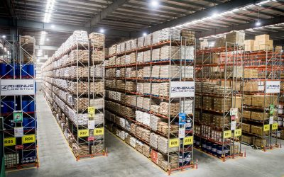 Rhenus abre mega armazém com 350 mil metros quadrados na Índia
