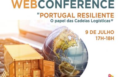 """""""Portugal Resiliente – O papel das cadeias logísticas"""" em webinar"""