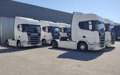 Transportes M. Brites investe em novas unidades dedicadas ao transporte internacional