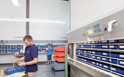 SUFERSA instala sistema de armazenagem VRC