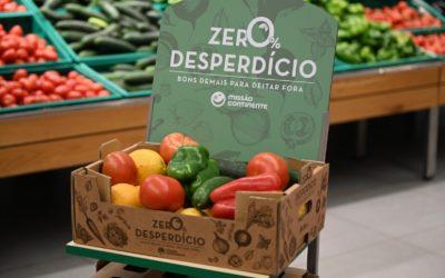 Continente combate desperdício alimentar com caixas de frescos