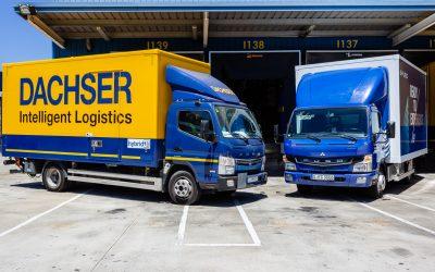 Dachser Iberia inicia operações deteste com veículo 100% eléctrico