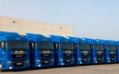 TJA reforça frota com 100 novas unidades MAN TGX