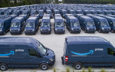 Amazon adquire 1.800 carrinhas eléctricas à Mercedes