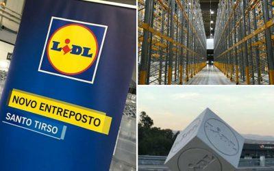 O maior entreposto logístico do Lidl em Portugal já iniciou operações