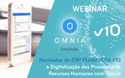 Maeil e Primavera apresentam novidades do V10 e digitalização de processos de RH com o Omnia
