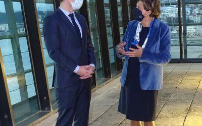 Ministro francês dos Transportes visitou Torre VTS do Porto de Lisboa