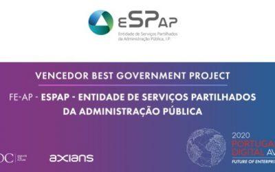 Factura Electrónica na Administração Pública distinguida no Portugal Digital Awards