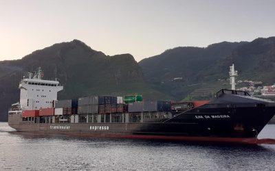 Transinsular mantém regularidade no abastecimento da Ilha da Madeira com novo navio