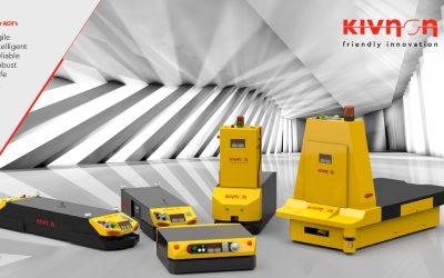 Inovações nos AGV's da espanhola Kivnon
