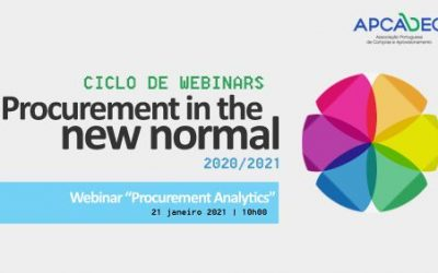 "Ciclo de webinares ""Procurement no novo normal"" prossegue"
