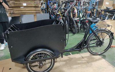 Bicicleta portuguesa de carga em desenvolvimento no Cartaxo