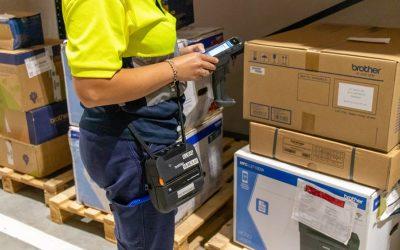 FM Logistic melhora sistema de gestão de armazenamento com a Brother