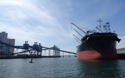 Portos do continente movimentaram 7,15 milhões de  toneladas