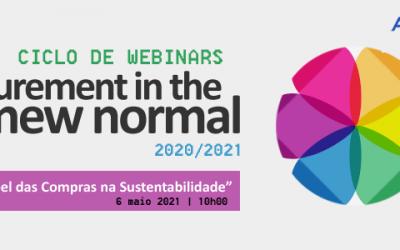Papel das Compras na Sustentabilidade estará em debate no dia 6 de Maio