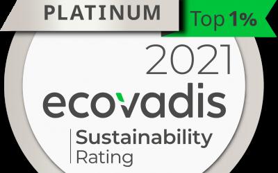 Chep alcança o nível mais elevado em sustentabilidade