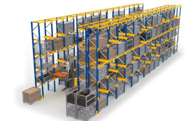 Jungheinrich estabelece parceria e produz sistemas de estanterias em Portugal