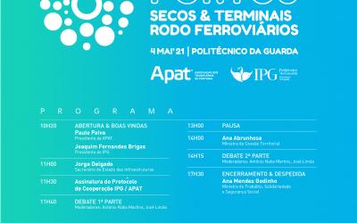 "APAT promove debate sobre ""Portos Secos & Terminais Logísticos rodo-ferroviários"""