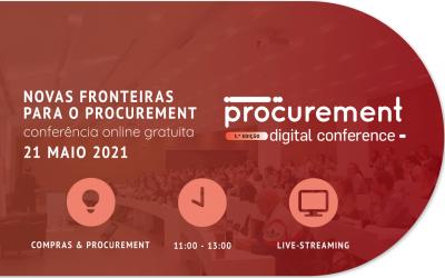 3ª edição da Procurement Digital Conference ocorre no dia 21 de Maio