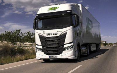 IVECO fornece 300 veículos a GNL à ESP Solutions