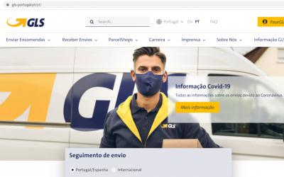 GLS Portugal lança novo website e entra em nova era de interacção