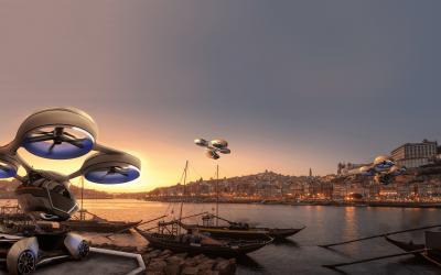 CEIIA estuda transporte de mercadorias através de drones
