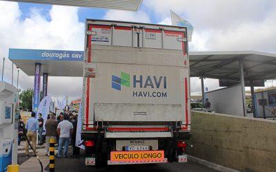 Primeiro veículo pesado com biometano 100% renovável já circula em Portugal