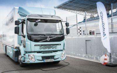 Camião Volvo FL Eléctrico chega ao mercado