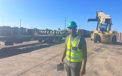 Transitex realiza transporte pioneiro no Porto de Maputo