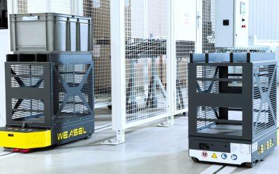 SSI Schaefer lança AGV para transporte de pequenas cargas